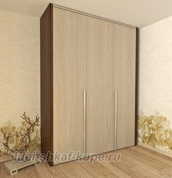 шкаф со складным фасадом дизайн-проект